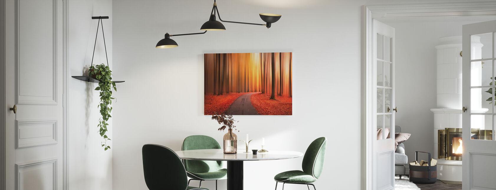 Path to Unknown - Canvas print - Kitchen