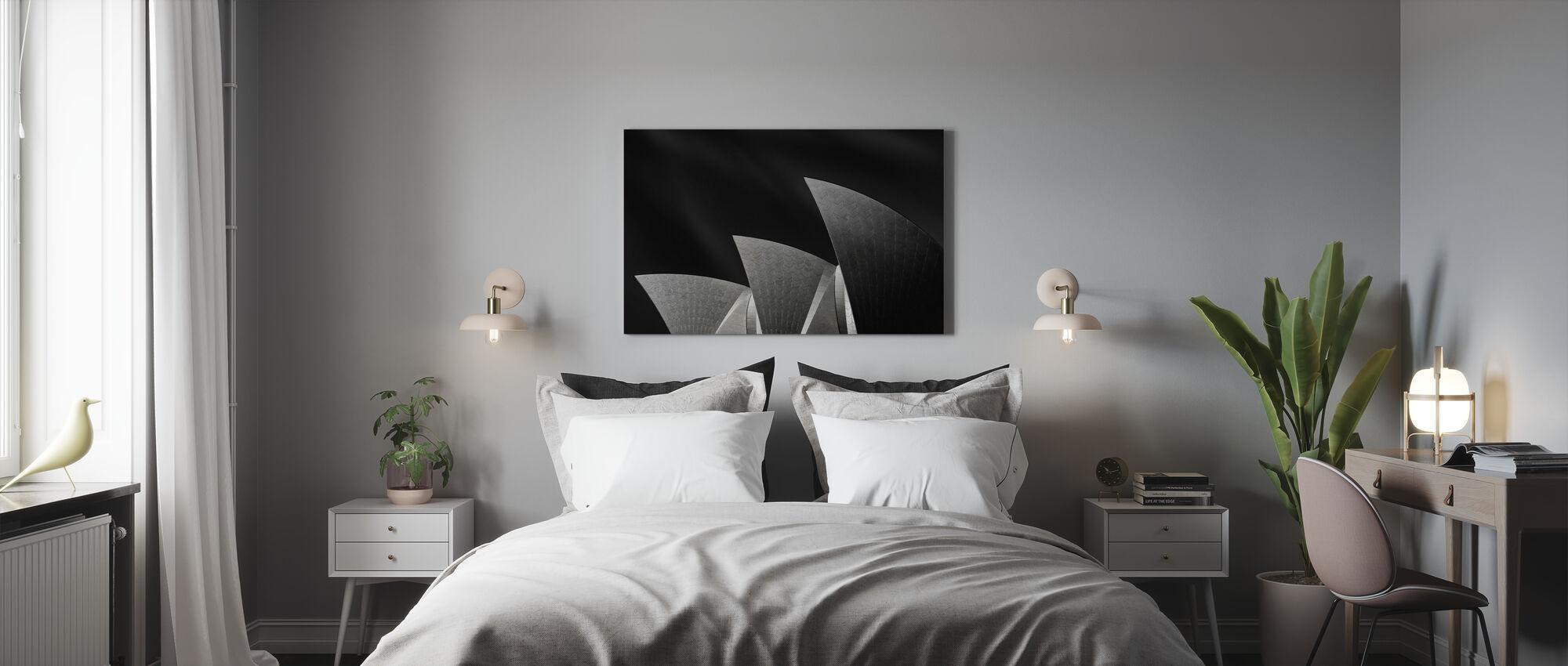 Like a Famous Three-Mast - Canvas print - Bedroom