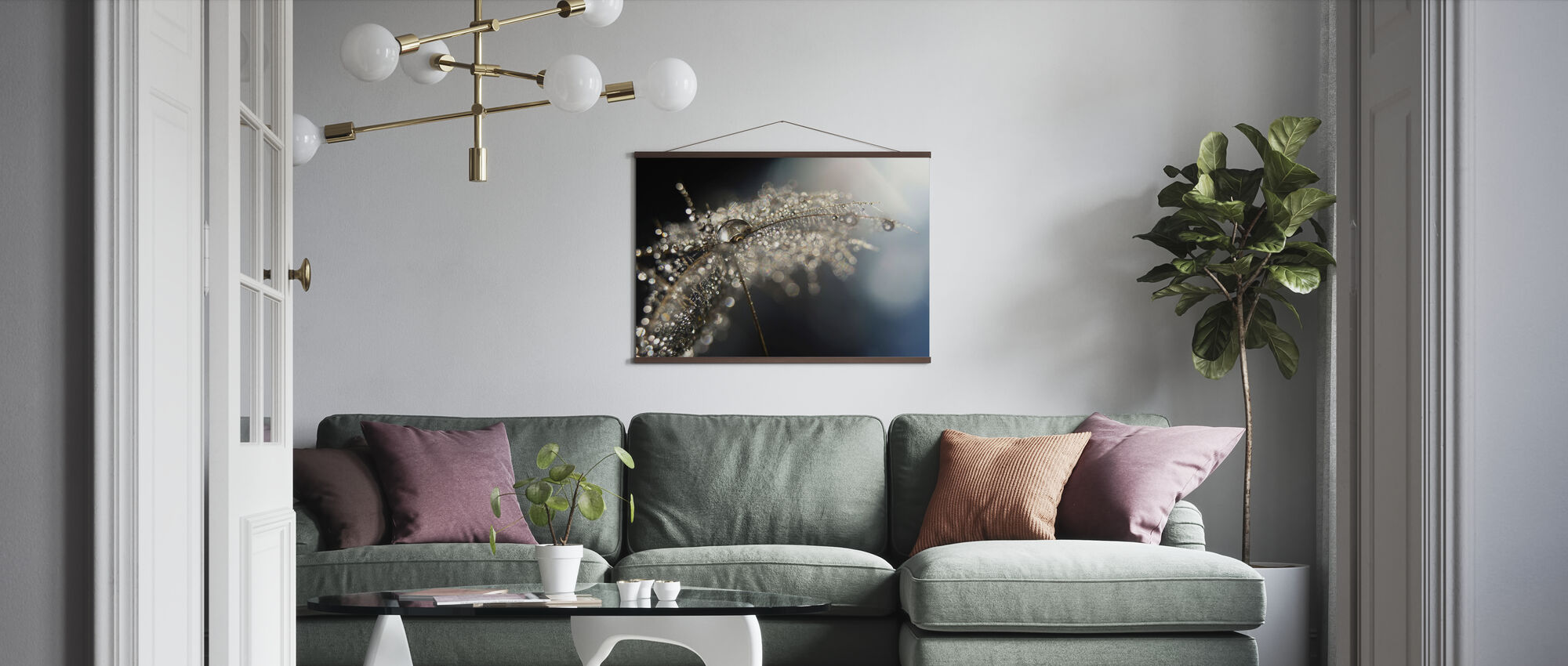Reflection Explotion - Poster - Living Room