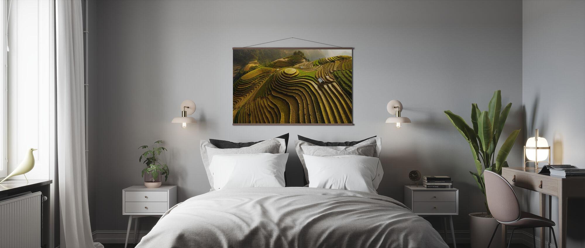 Mu Cang Chai - Vietnam - Poster - Schlafzimmer