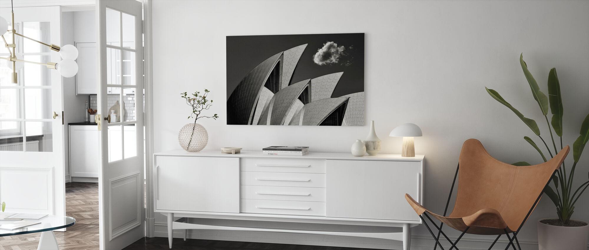 Glup - Canvas print - Living Room