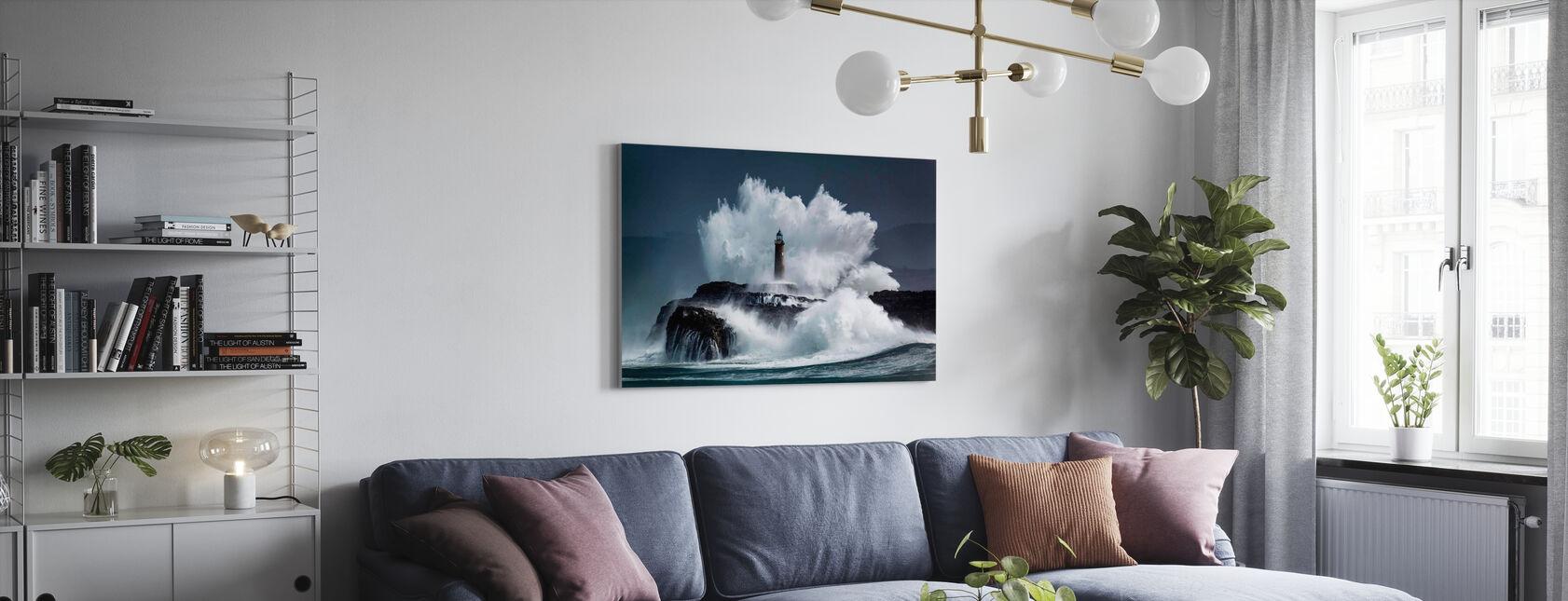 Kam - Canvas print - Woonkamer