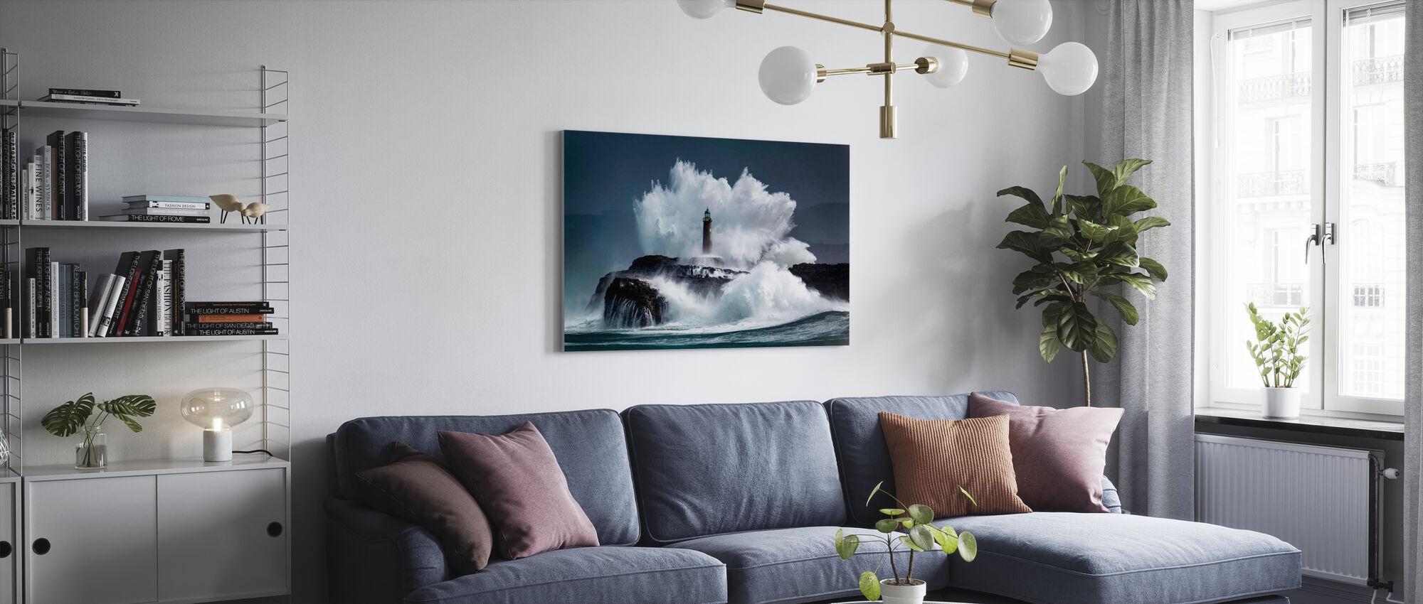 Kamma - Canvastavla - Vardagsrum