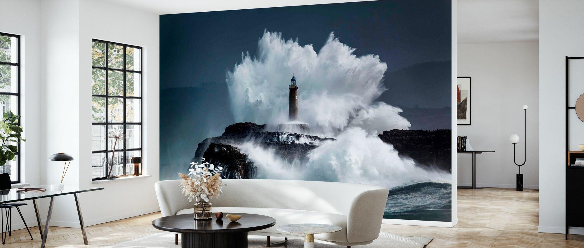 Comb - Wallpaper - Living Room