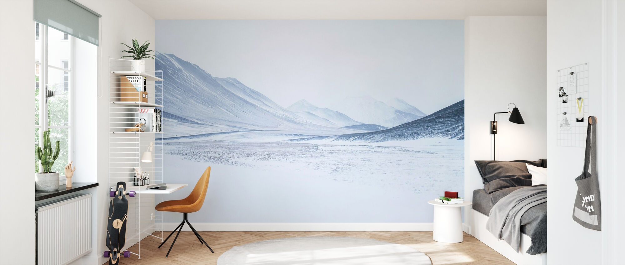 Sketched by the Wind - Wallpaper - Kids Room