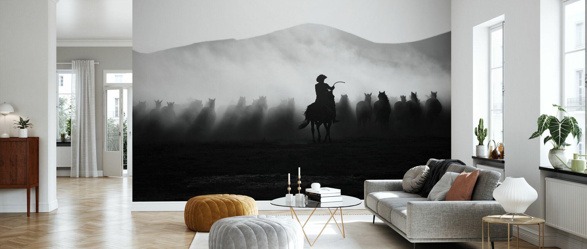 Chasing the Jades - Wallpaper - Living Room