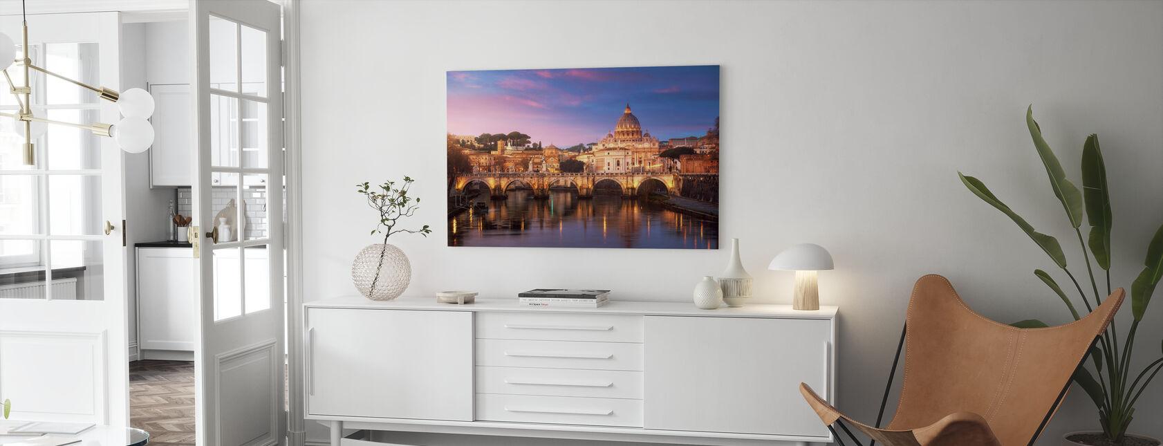 Rom - Canvastavla - Vardagsrum