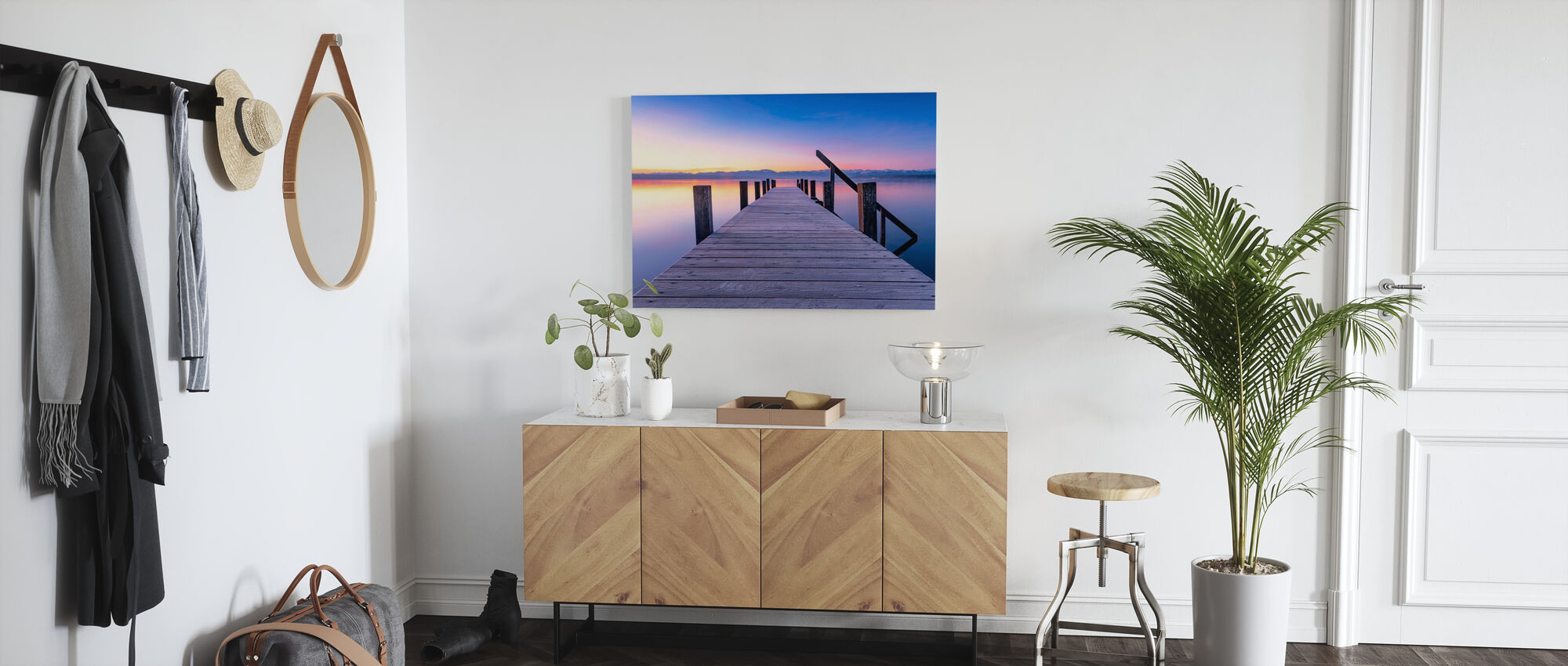 At the Lake - Canvas print - Hallway