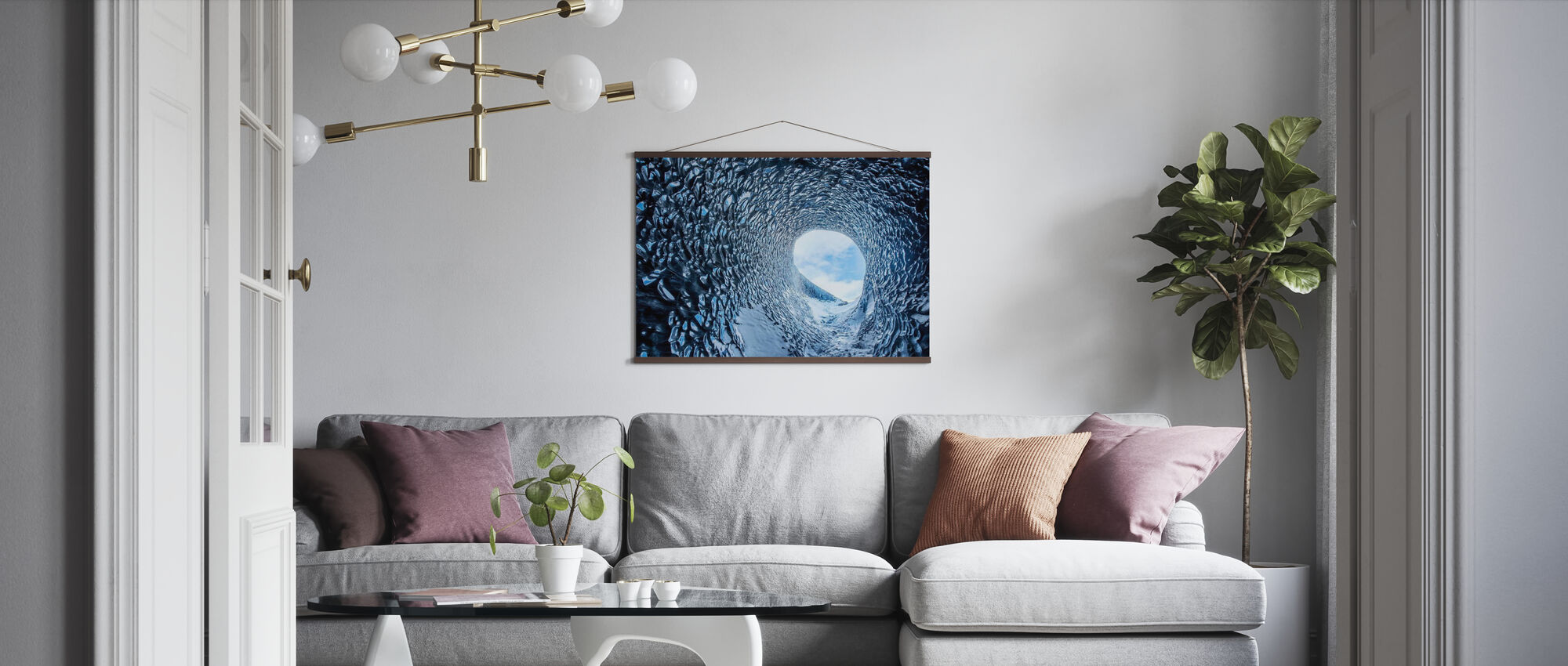Ice Cave - Poster - Living Room