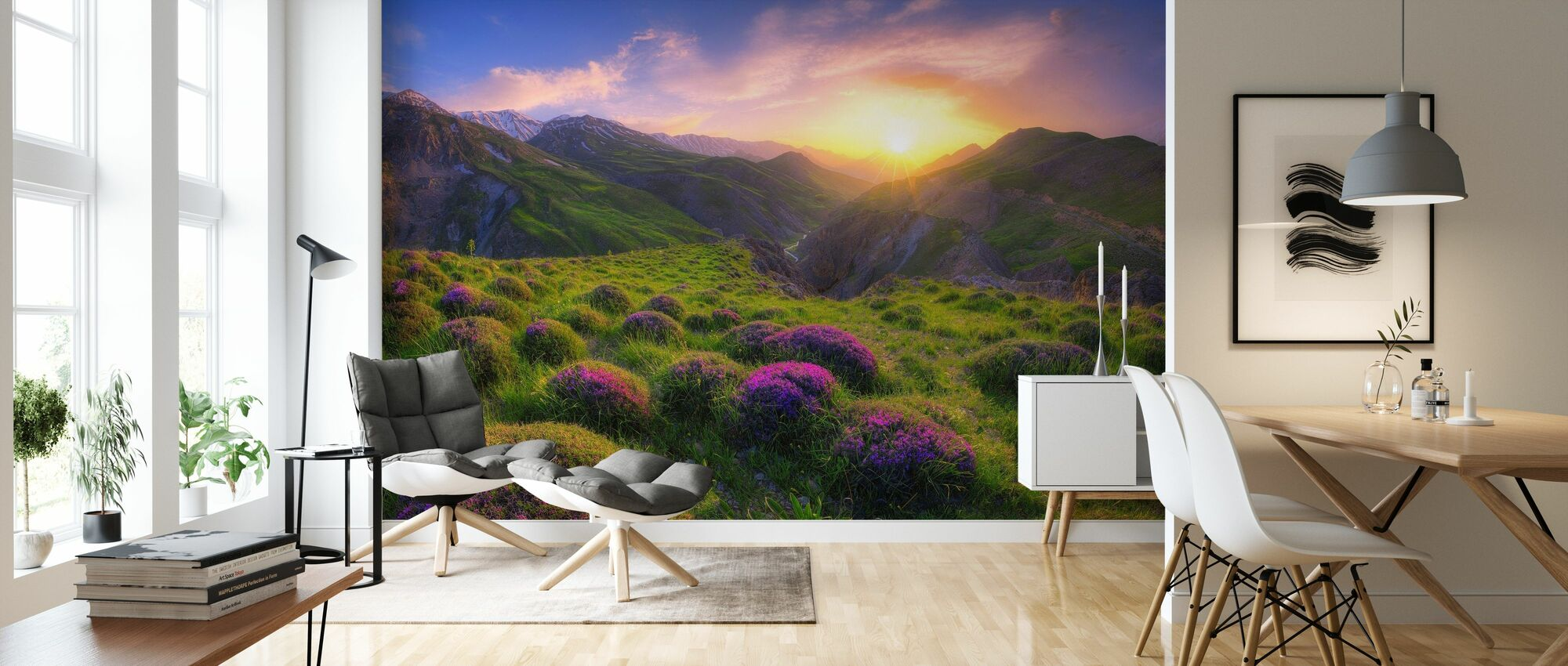 Spring in Show - Wallpaper - Living Room