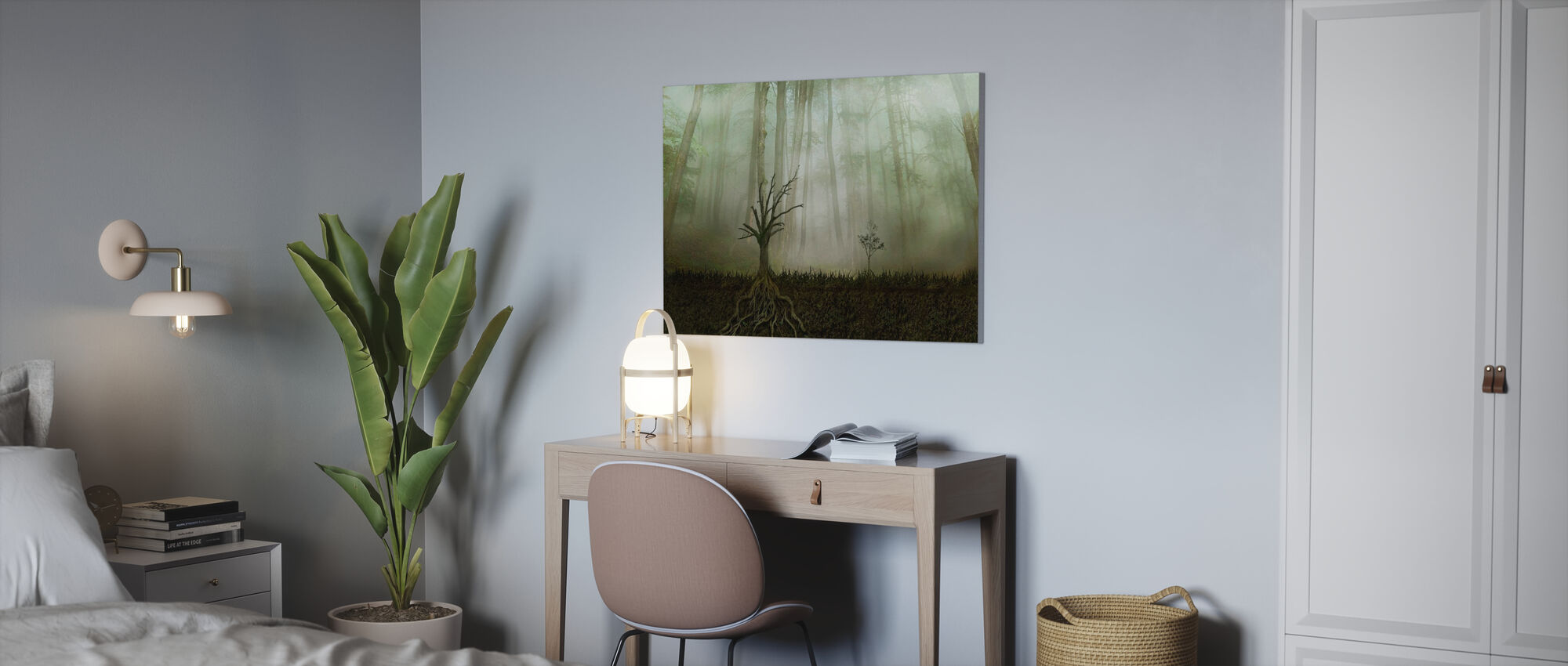 Root - Canvas print - Office