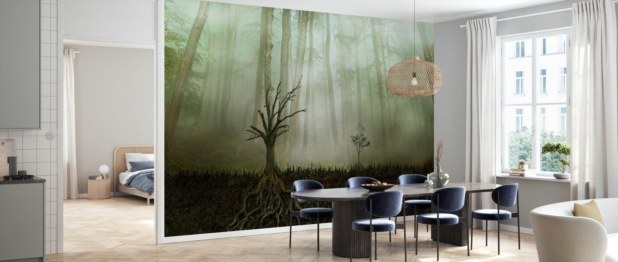Root - Wallpaper - Kitchen