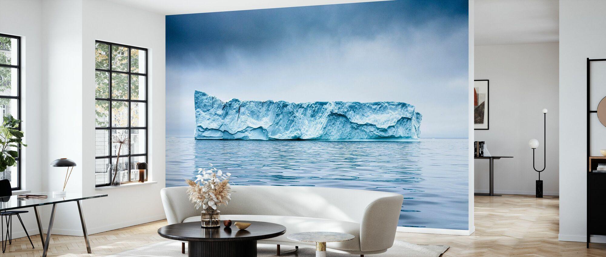 Rothko Mountain - Wallpaper - Living Room
