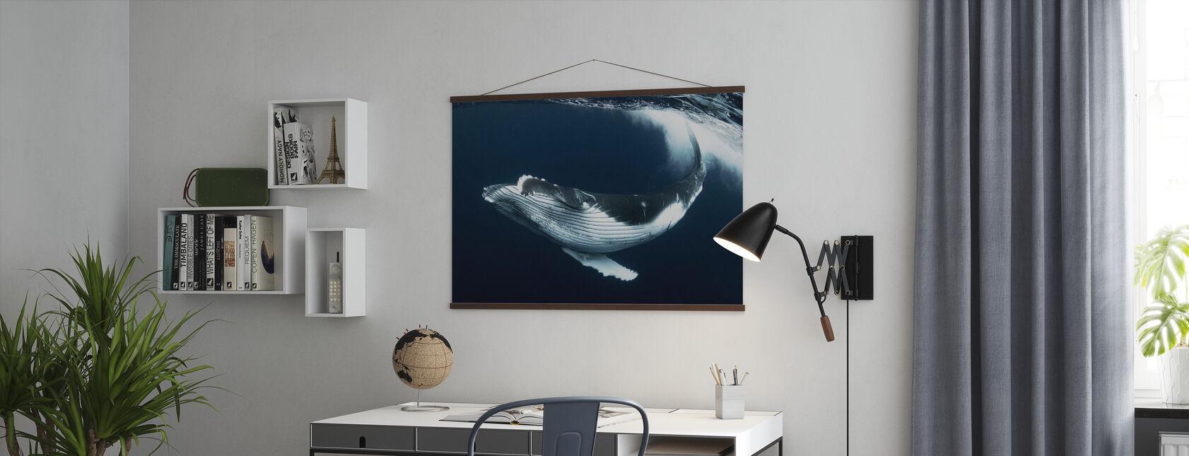 Mooie draai - Poster - Kantoor