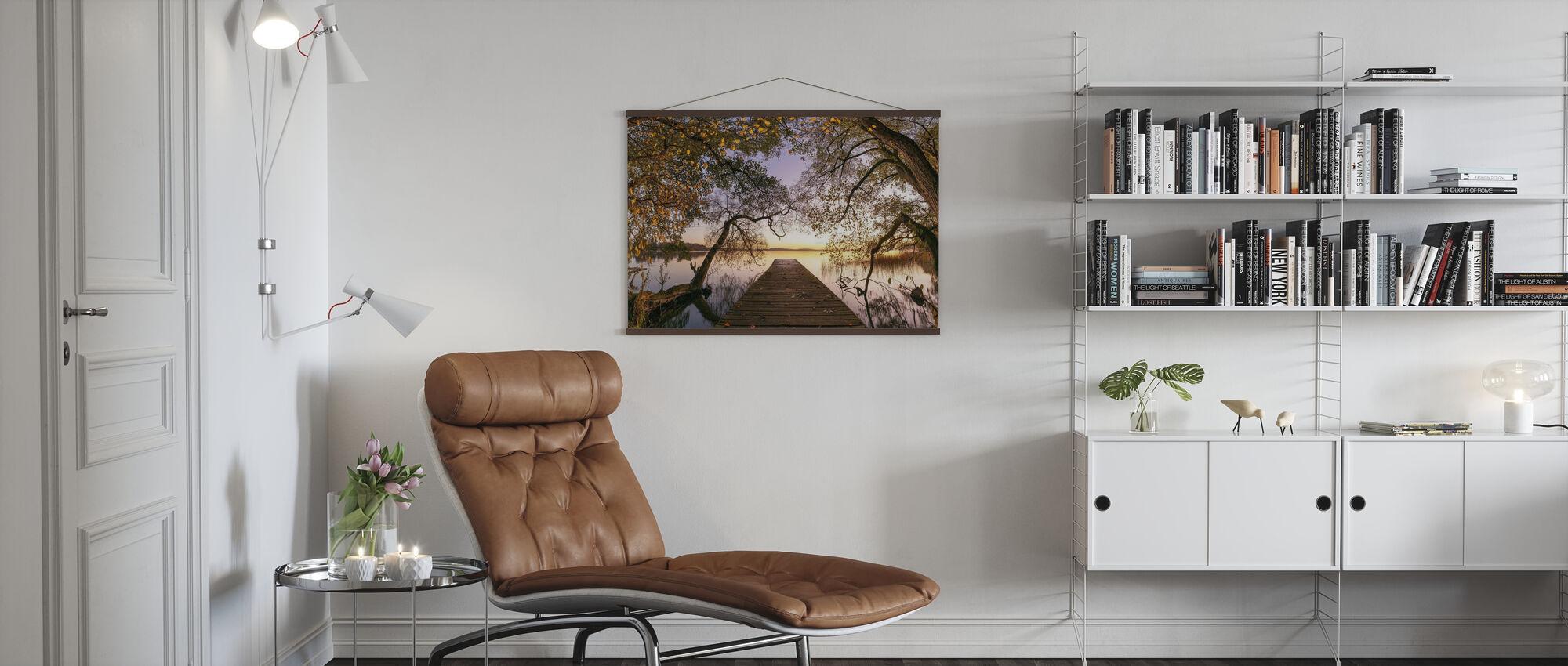 Efterår - Plakat - Stue