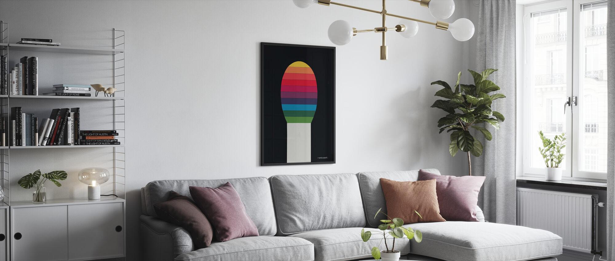 Match V - Poster - Living Room