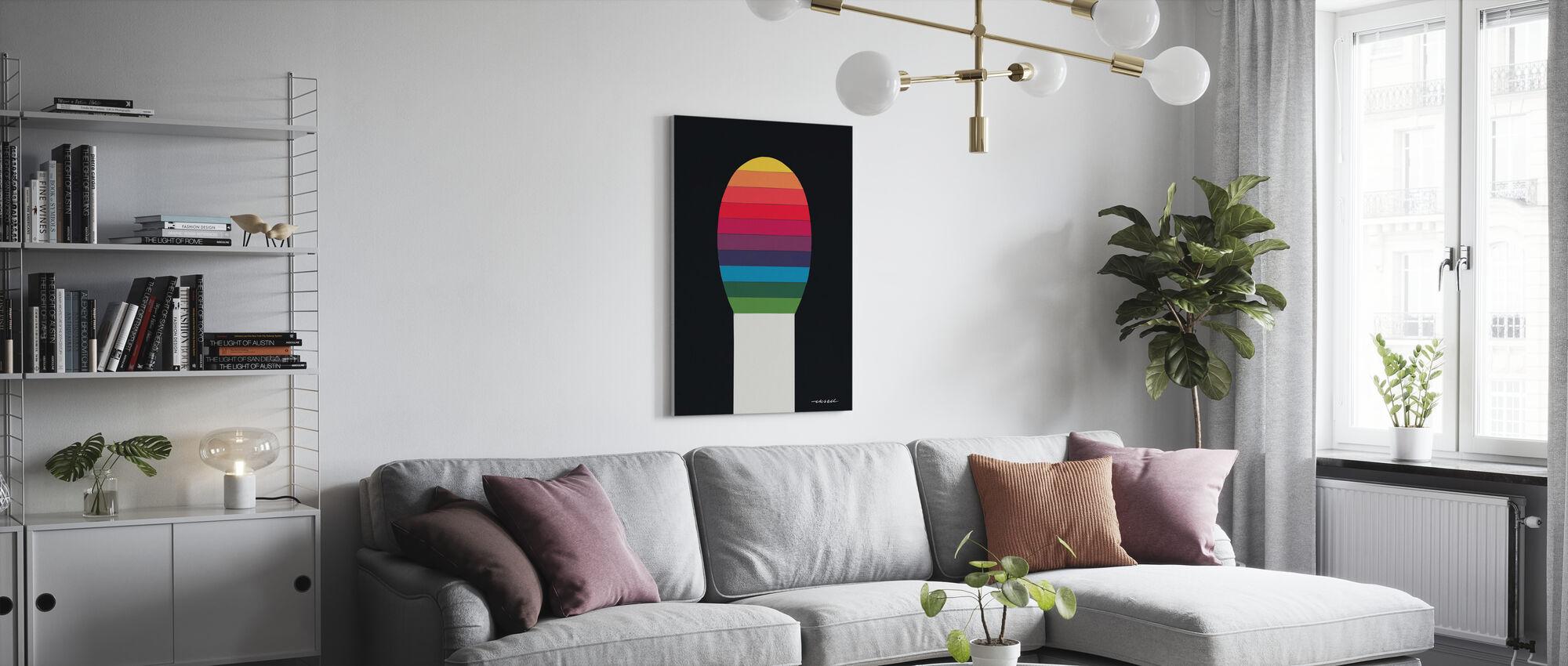 Wedstrijd V - Canvas print - Woonkamer