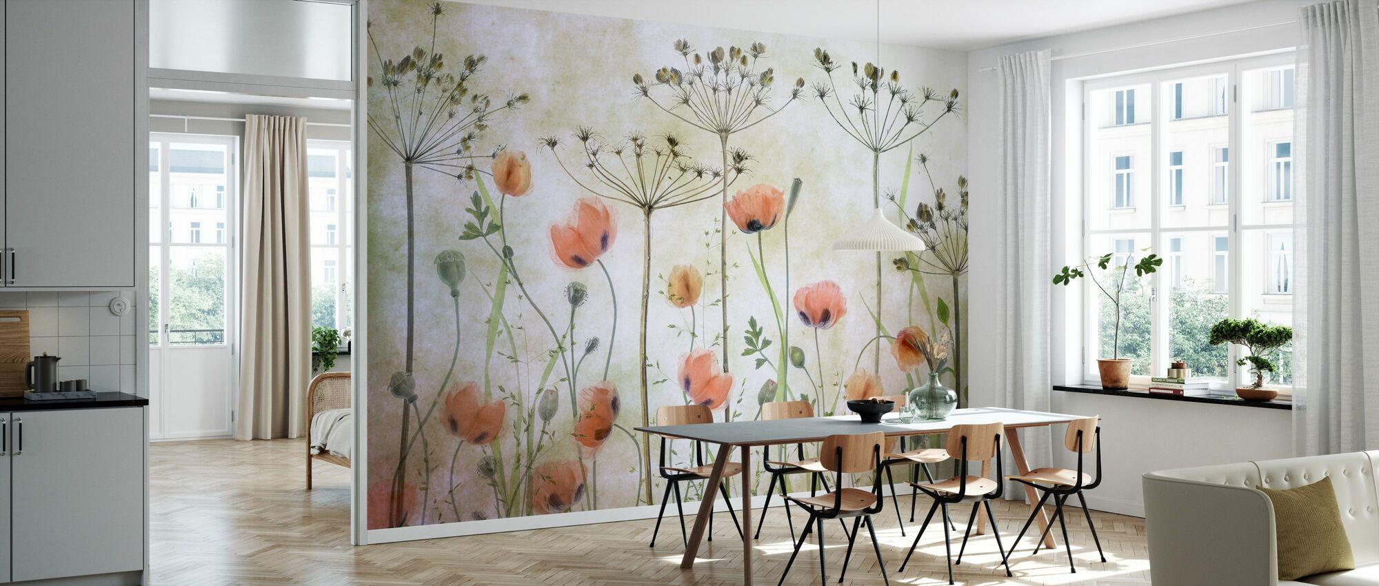 Poppy Meadow - Wallpaper - Kitchen