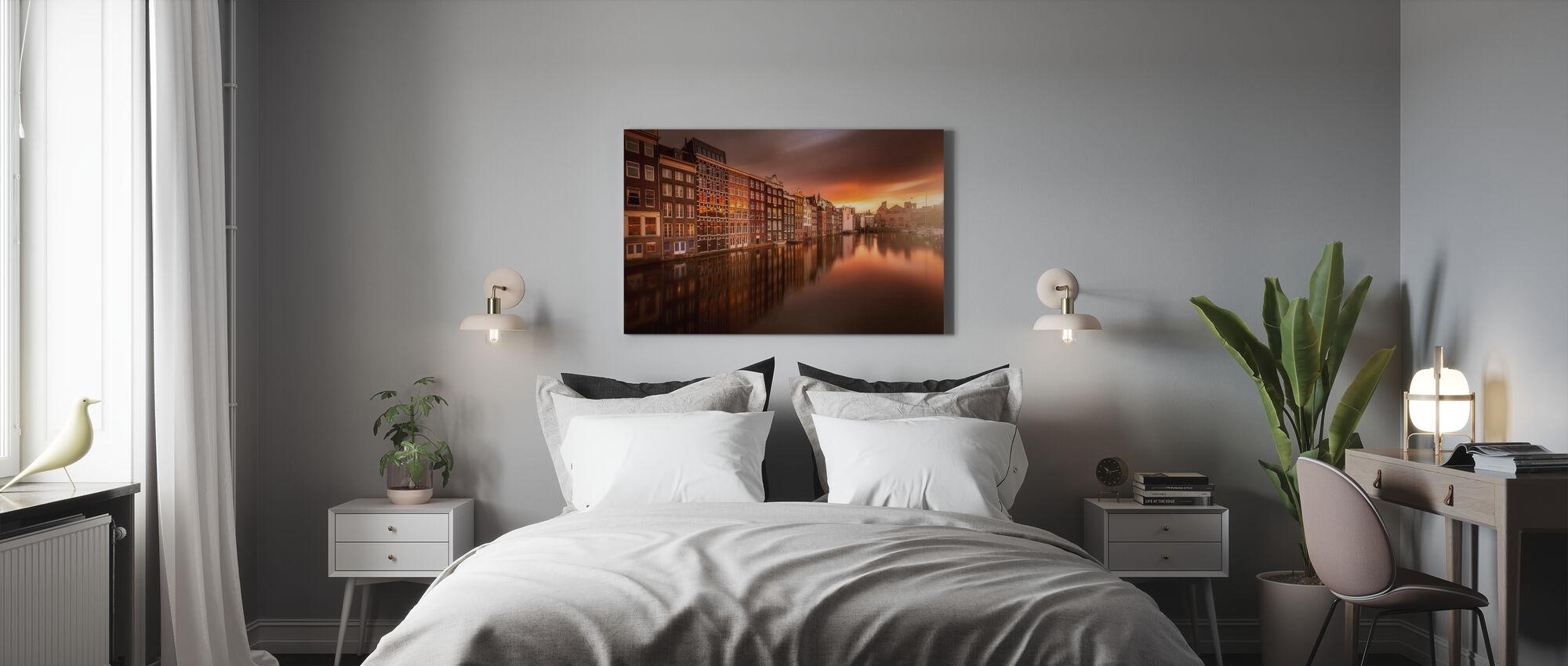 Amsterdam - Canvas print - Slaapkamer