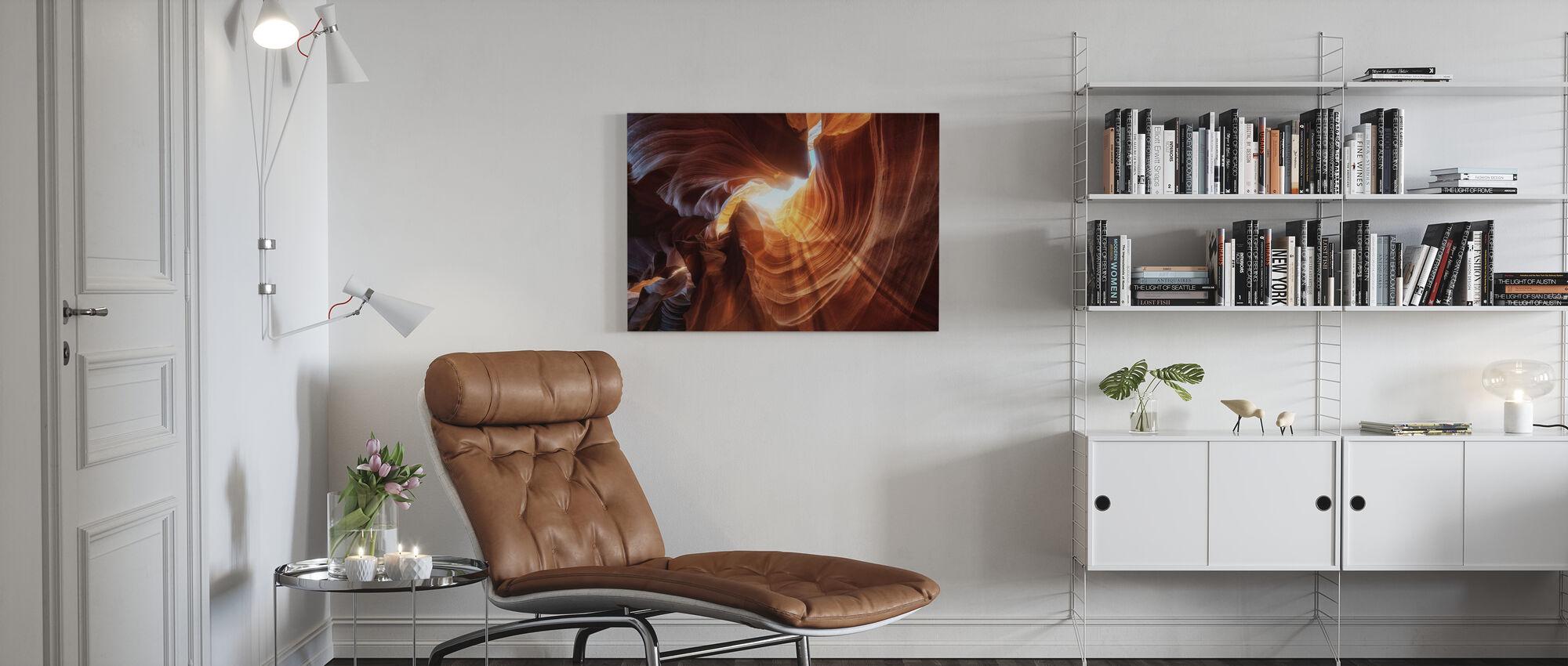 Antelope Hole - Canvas print - Living Room