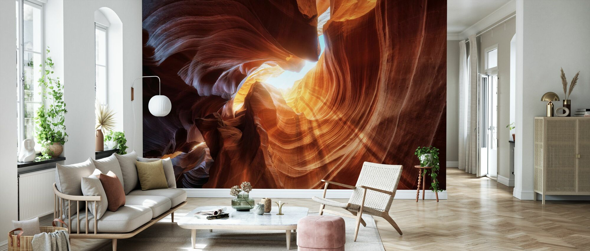 Antelope Hole - Wallpaper - Living Room