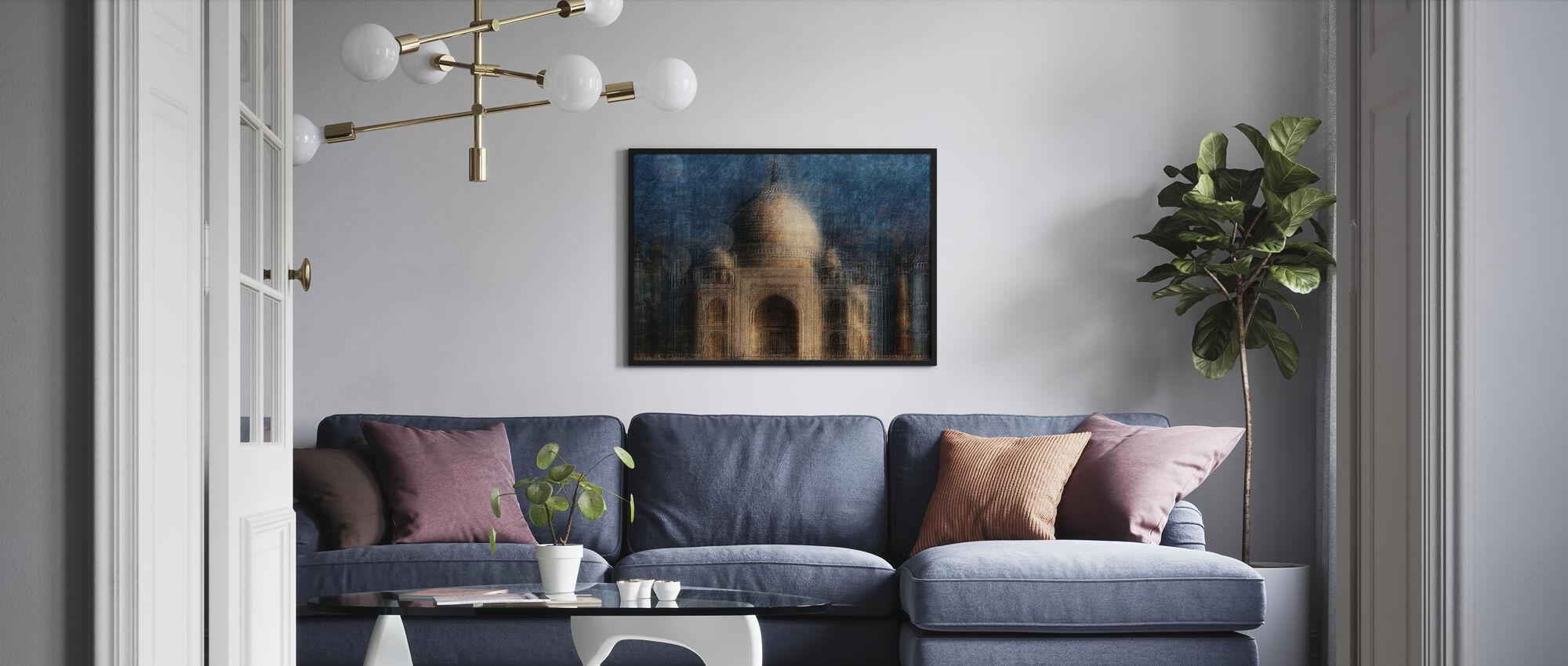 Taj Mahal - Poster - Living Room