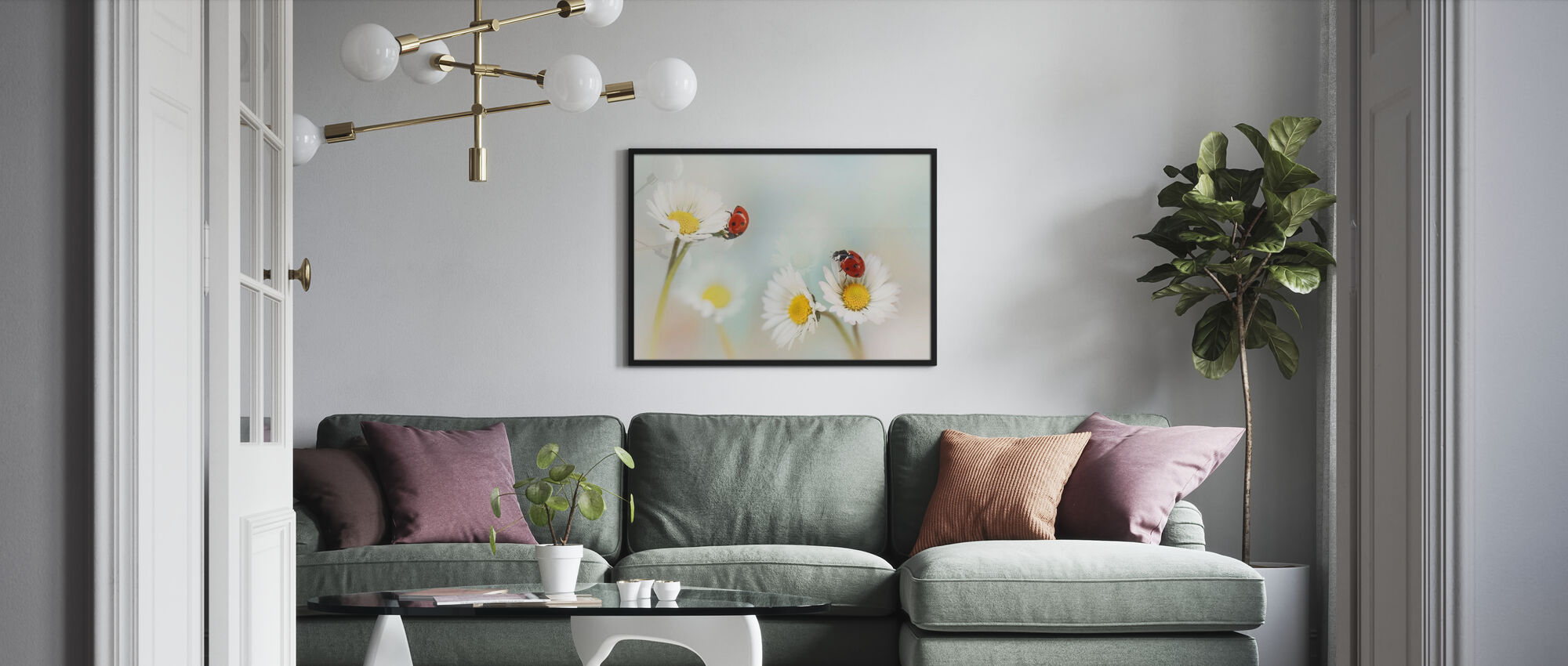 Springtime - Framed print - Living Room