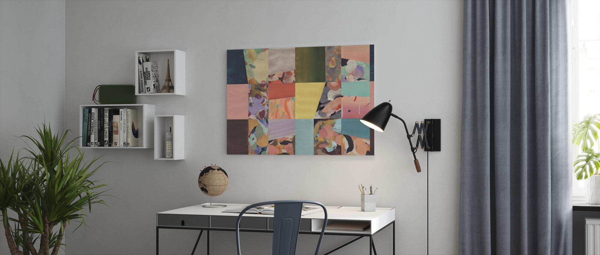 Abstract Fun - Big - Canvas print - Office