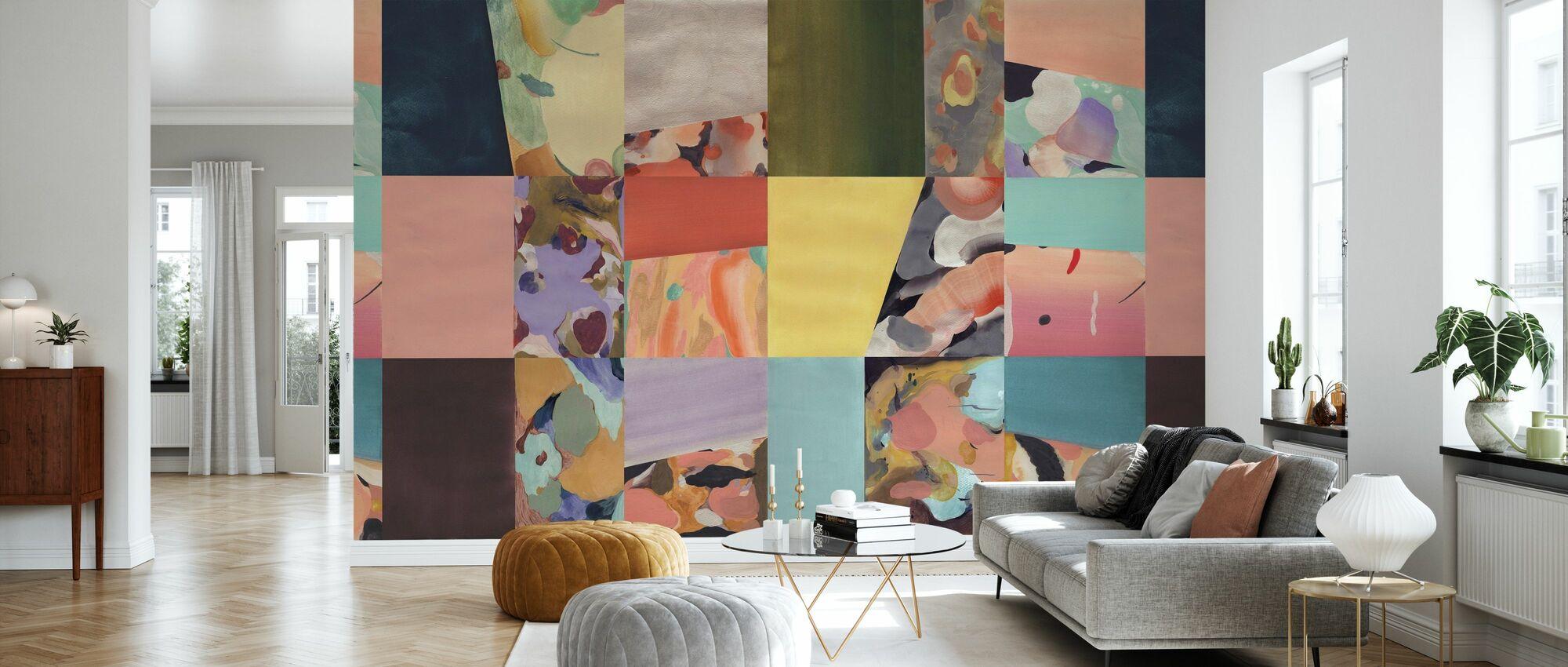 Abstract Fun - Big - Wallpaper - Living Room