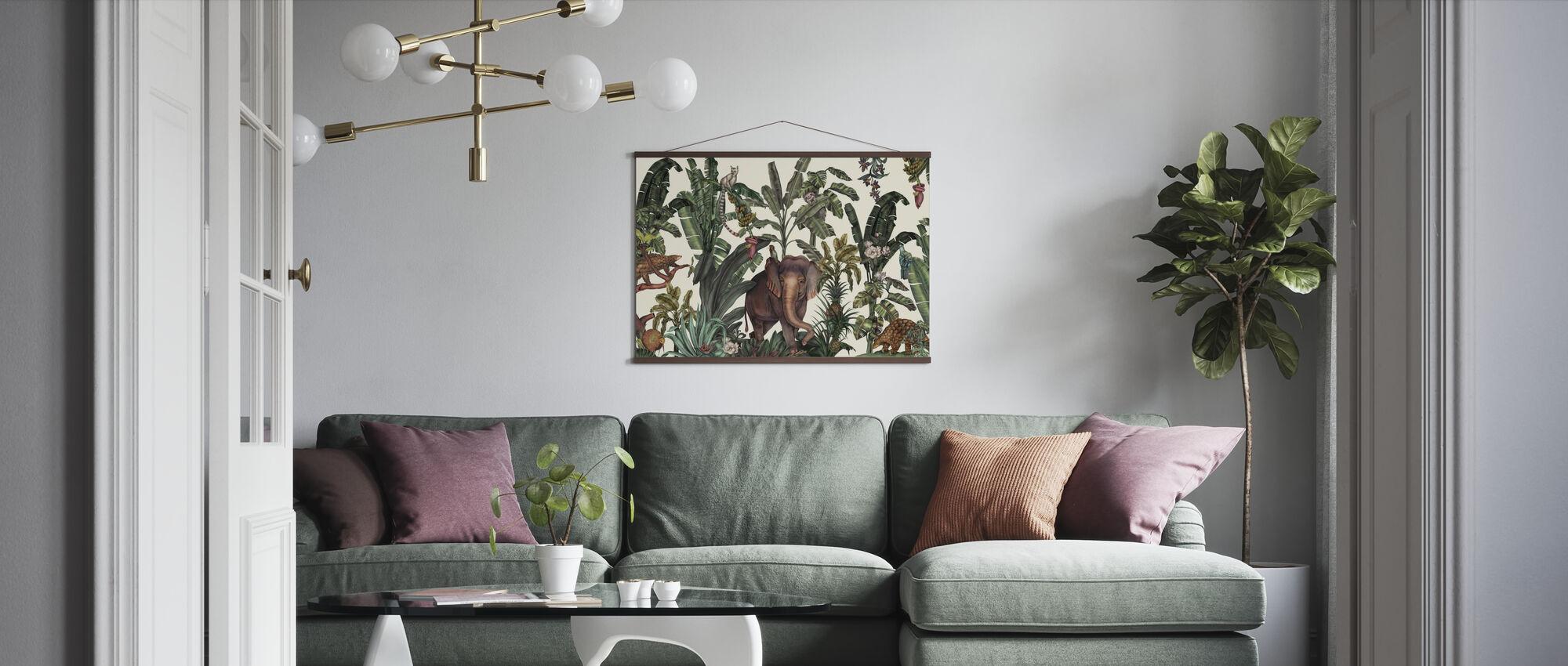 Animal Kingdom - Poster - Living Room