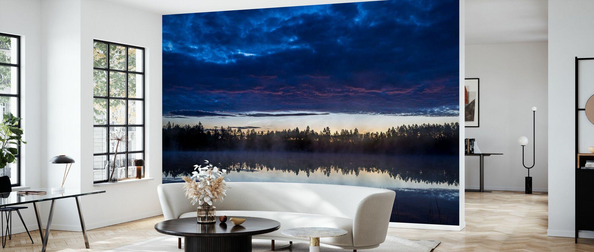 Sommarsjö 1 - Tapet - Vardagsrum