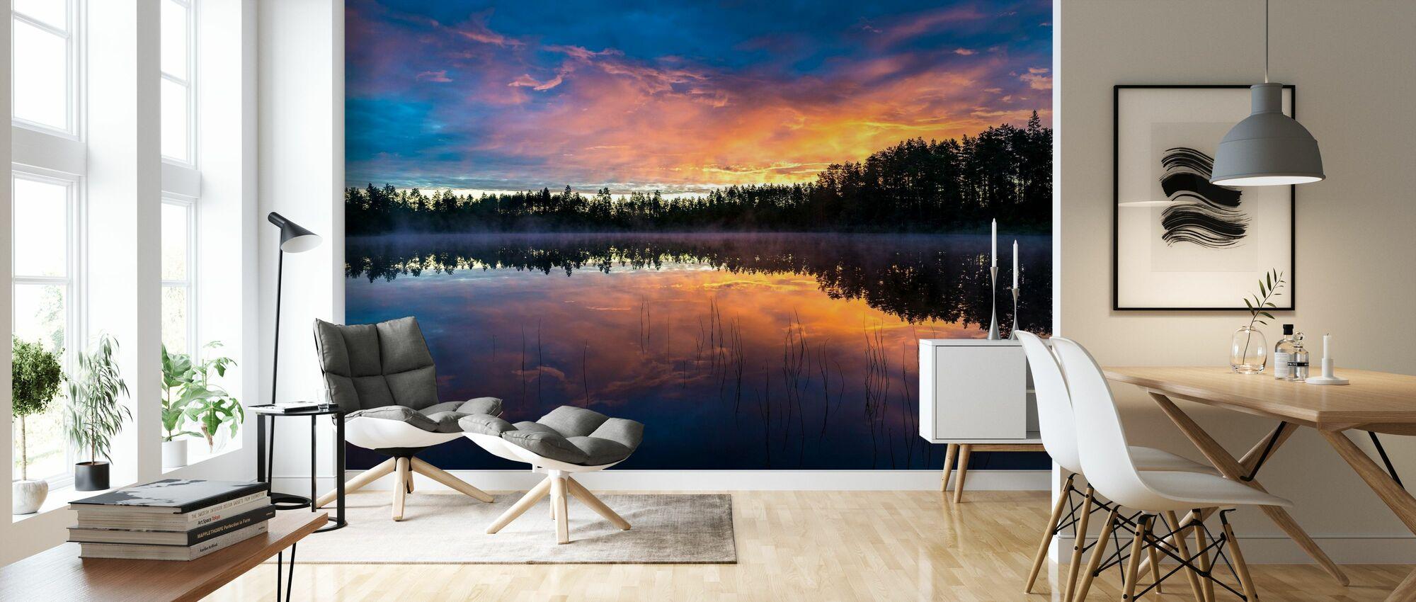 Sommarsjö 2 - Tapet - Vardagsrum