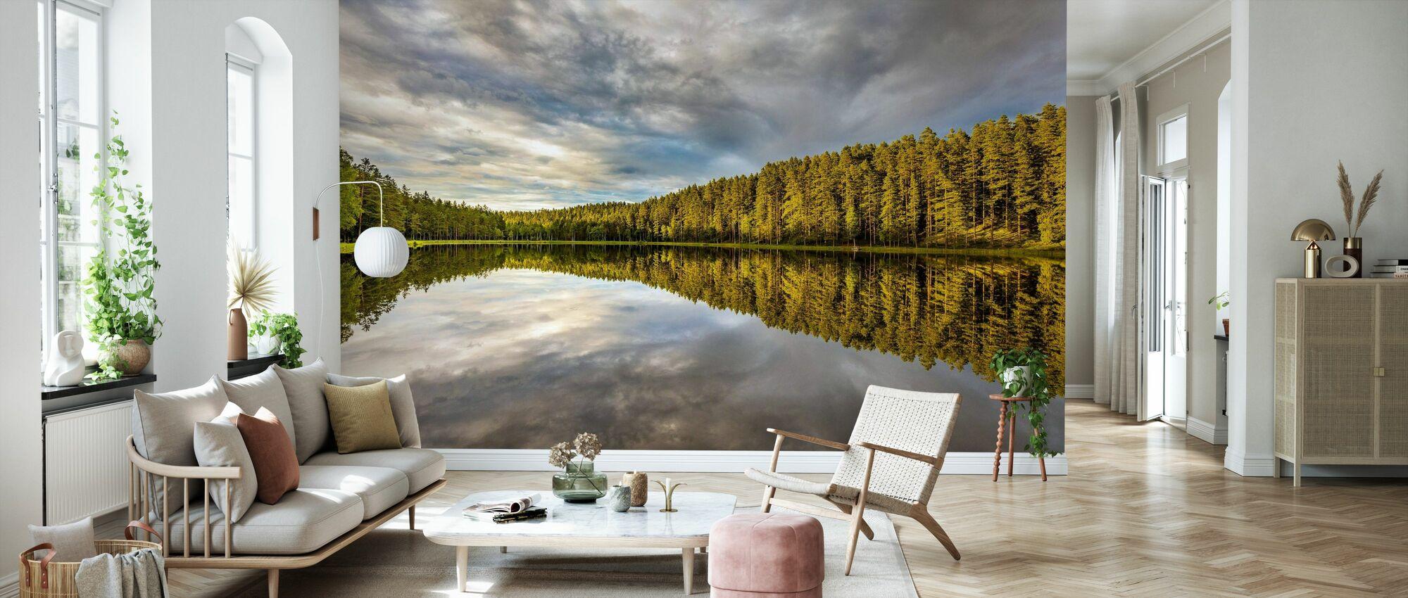 Sommarsjö 5 - Tapet - Vardagsrum