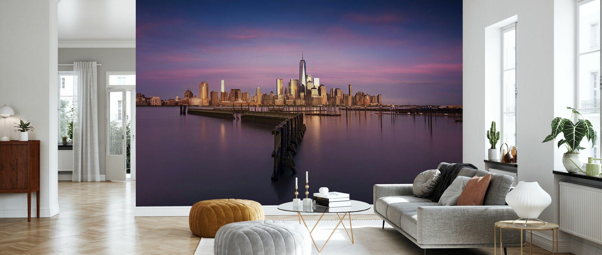 LeFrak Point Lighthouse - Wallpaper - Living Room
