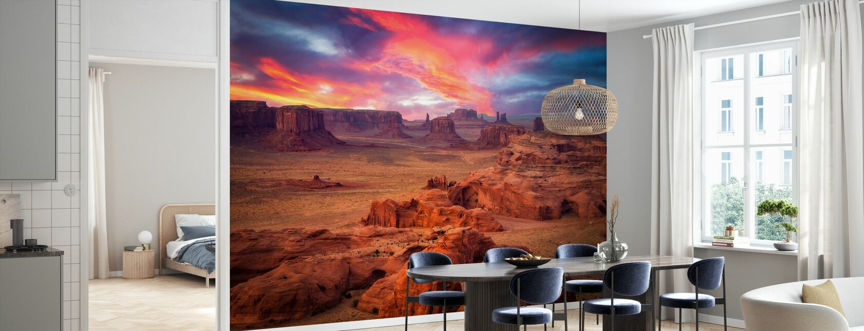 Hunts Mesa - Wallpaper - Kitchen