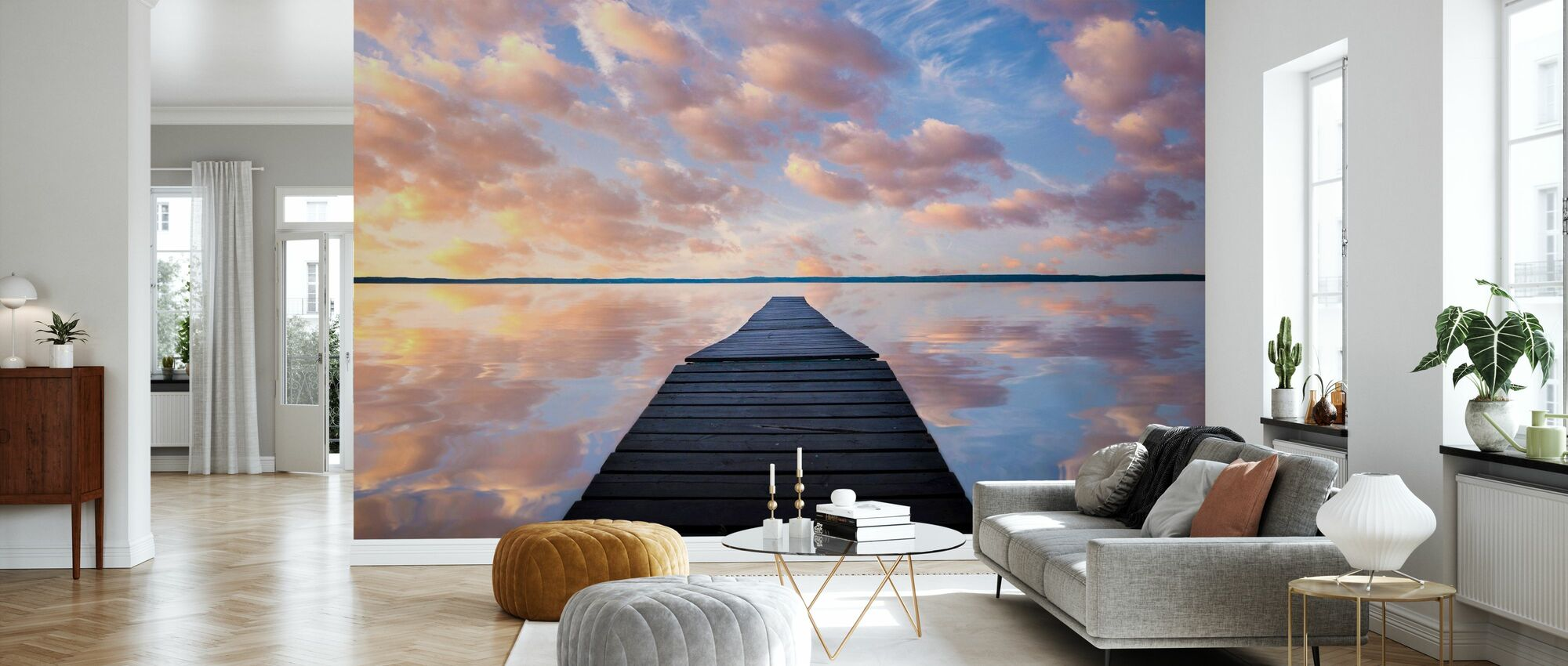 Sanctuary - Wallpaper - Living Room