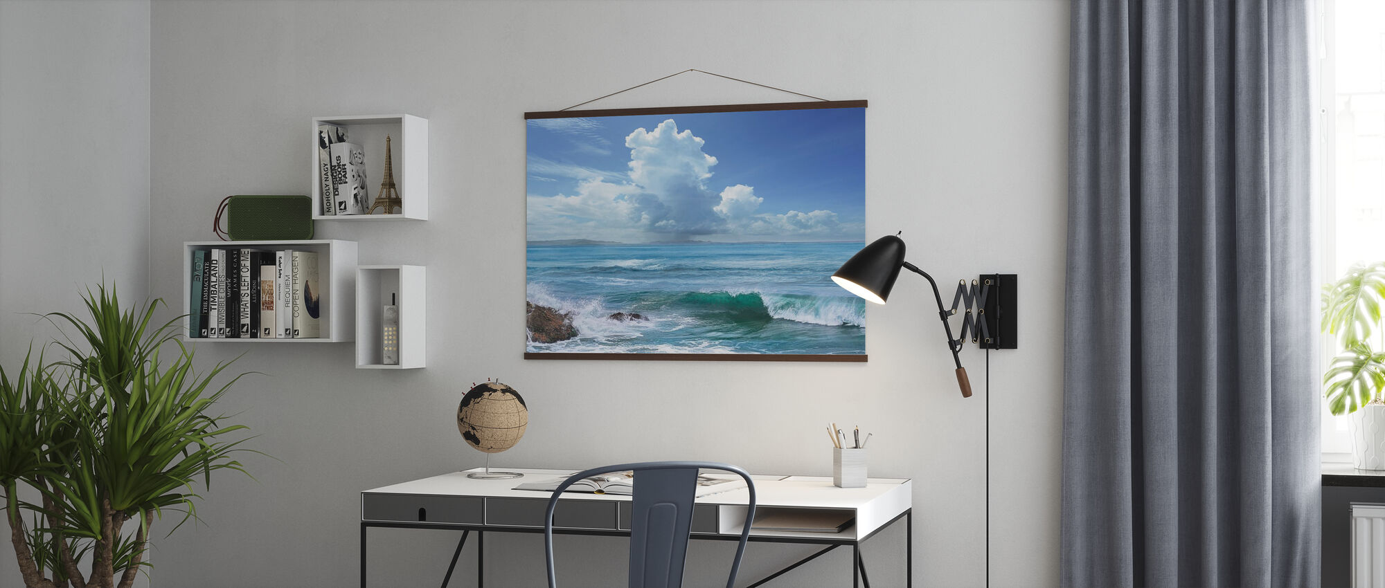 Perfect Wave - Poster - Office