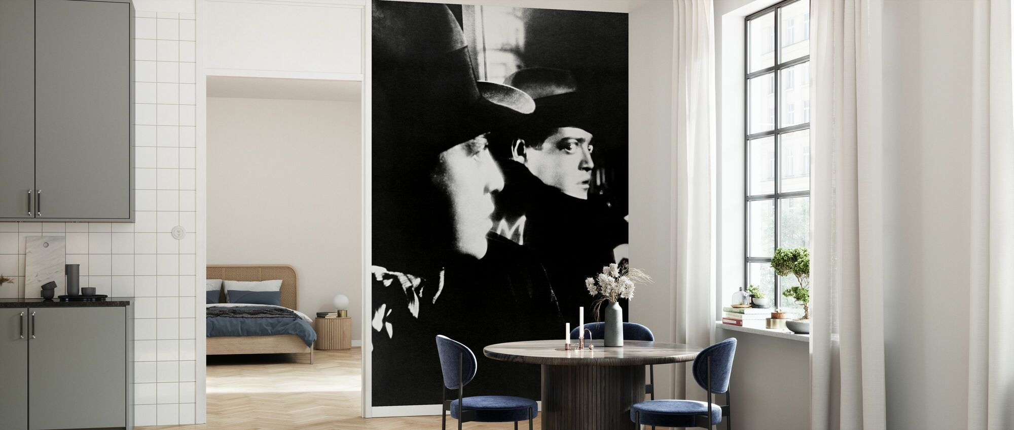 M - Peter Lorre - Wallpaper - Kitchen