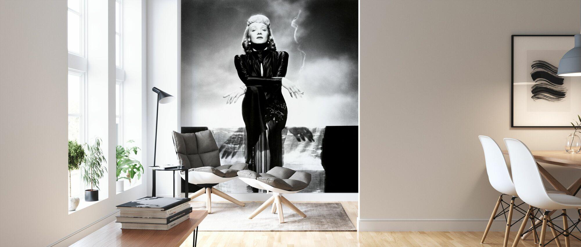 Manpower - Wallpaper - Living Room