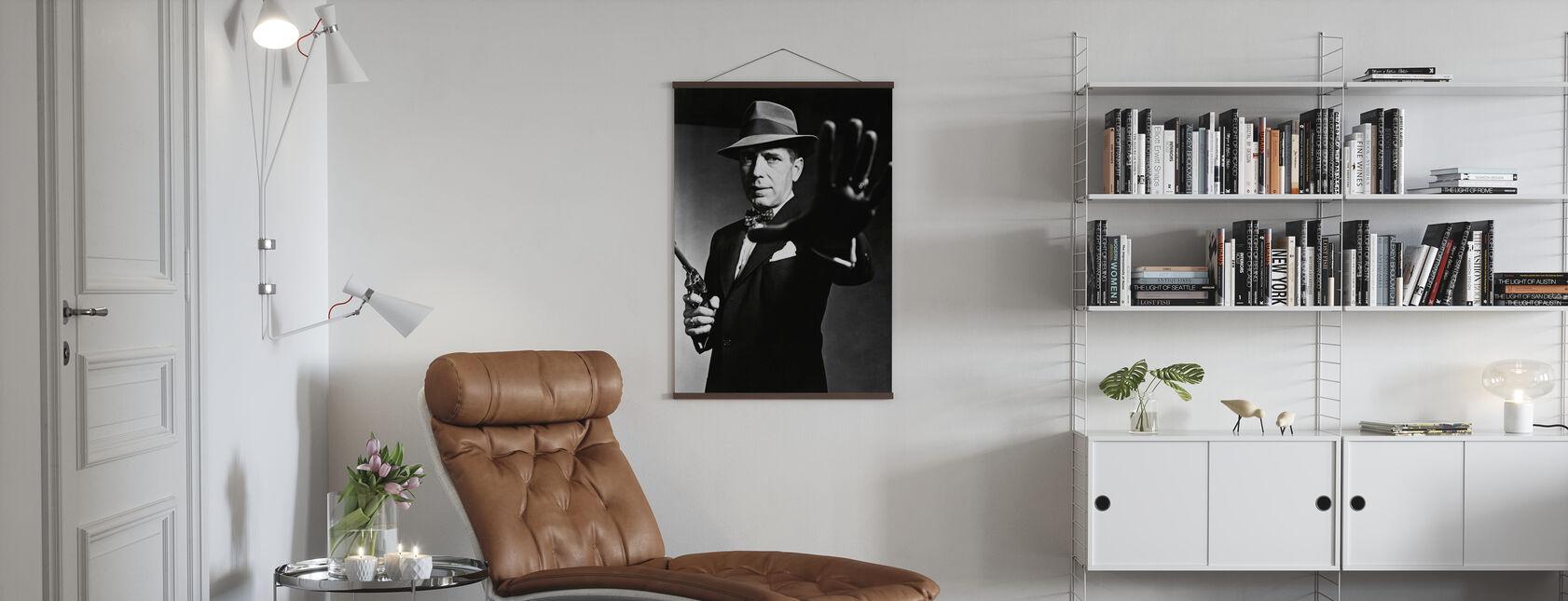 Enforcer - Humphrey Bogart - Poster - Living Room