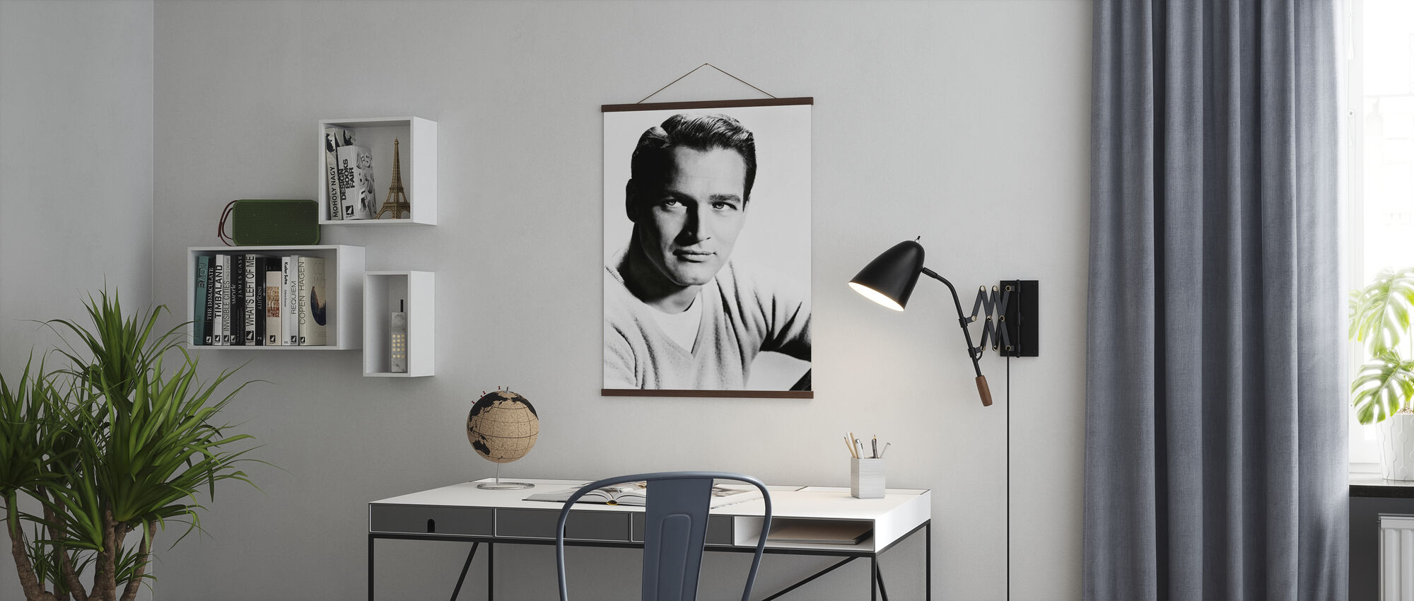 Paul Newman - Poster - Kontor