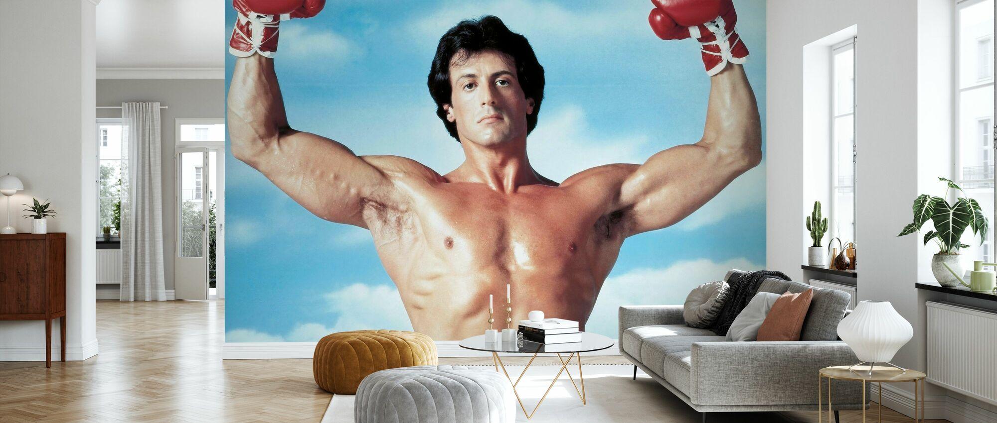 Rocky III - Sylvester Stallone - Wallpaper - Living Room