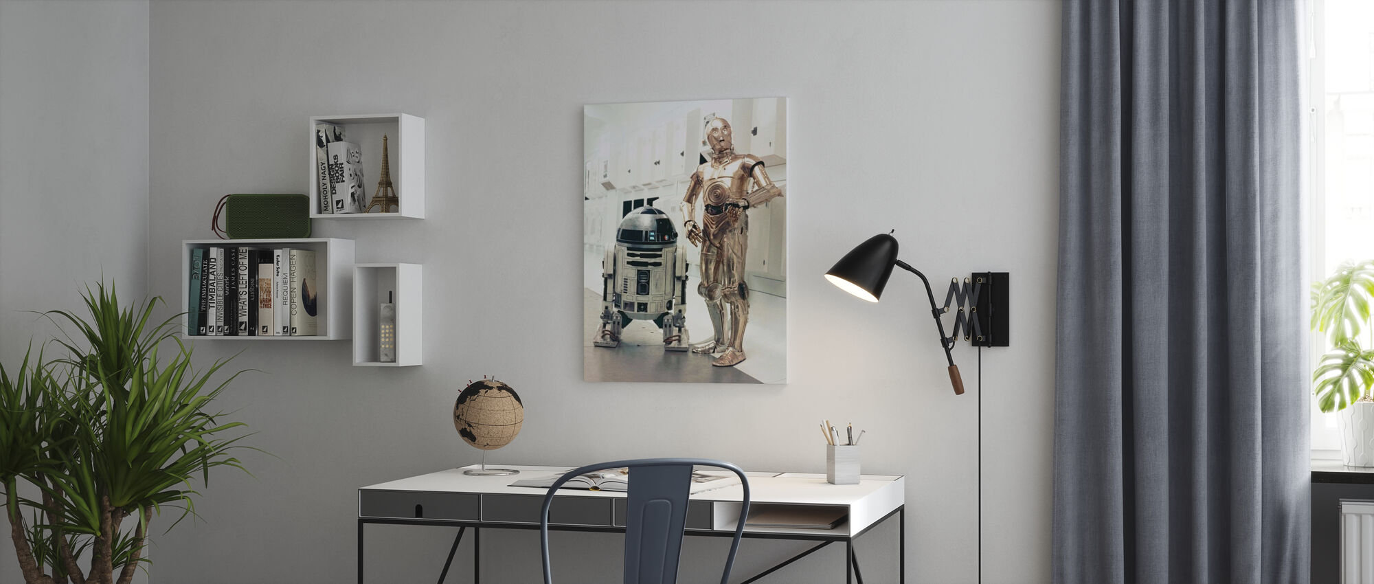 Star Wars Episode IV - A New Hope - Canvas print - Office