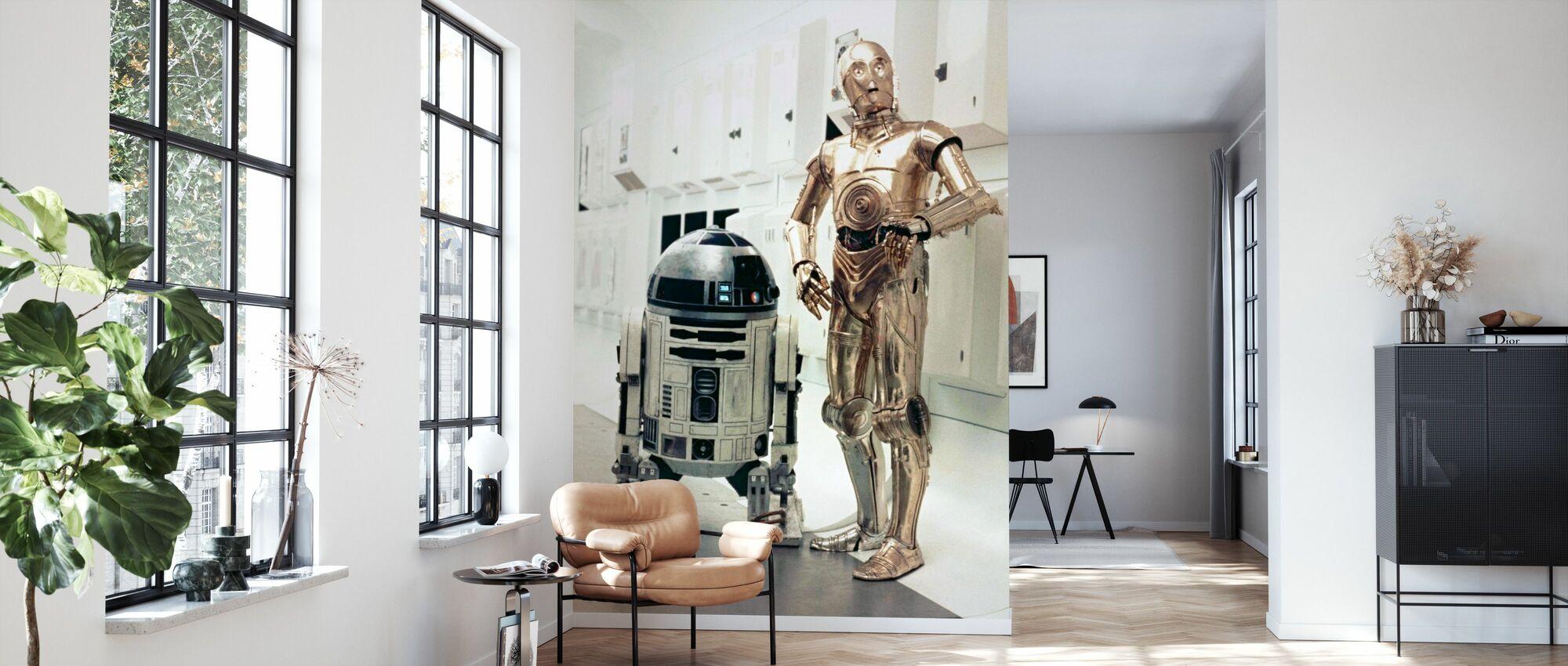 Star Wars Episode IV - Eine neue Hoffnung - Tapete - Wohnzimmer