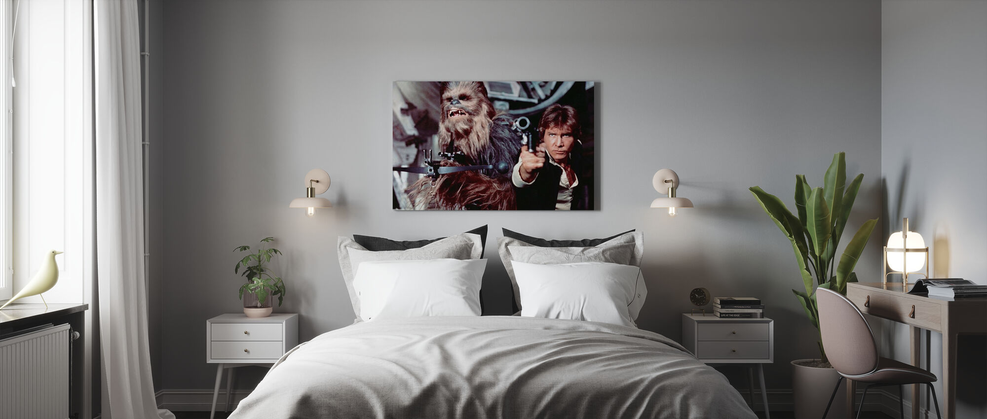 Star Wars Episode IV - Canvas print - Bedroom
