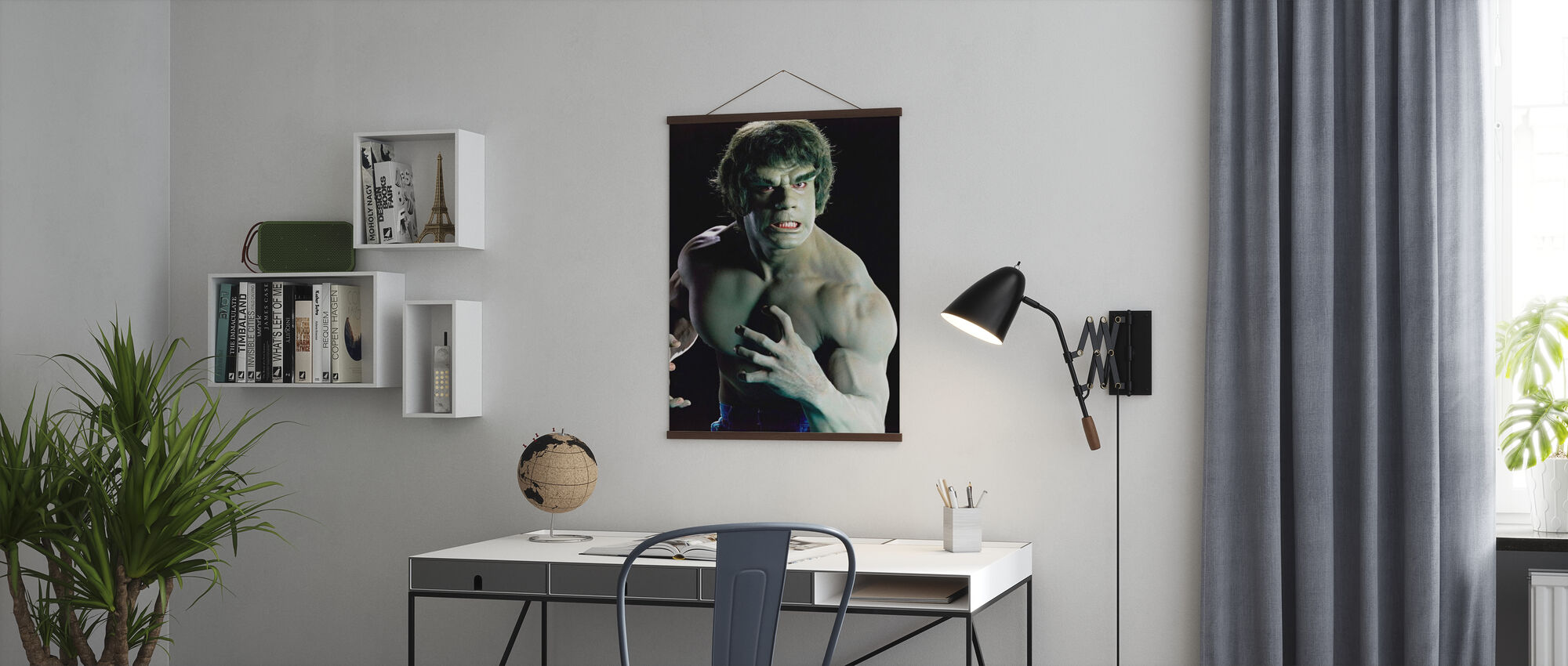 Incredible Hulk the TV - Poster - Office