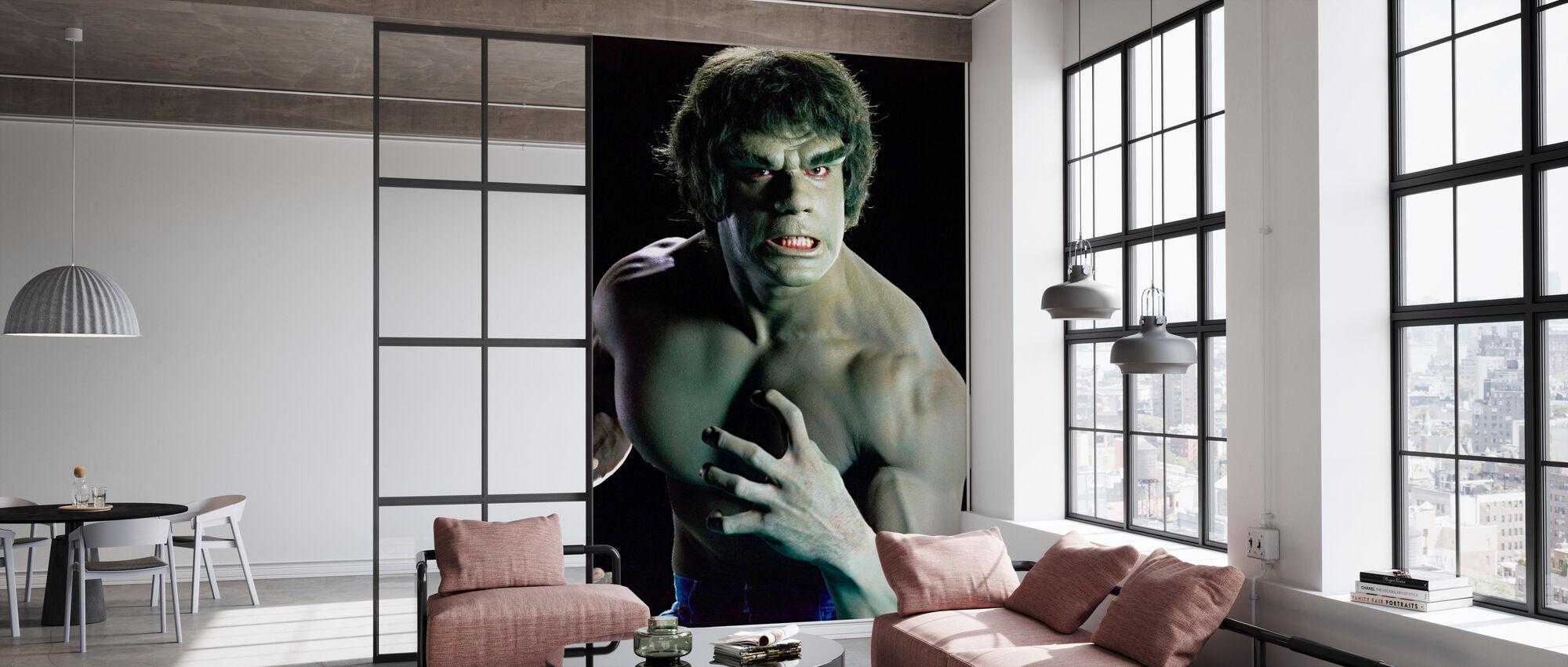 Utrolig Hulk TV - Tapet - Kontor