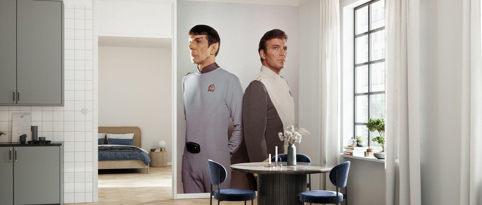Star Trek II - Khans vrede - Tapet - Kjøkken