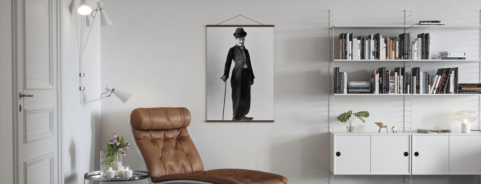 Vagabondo - Charlie Chaplin - Poster - Salotto