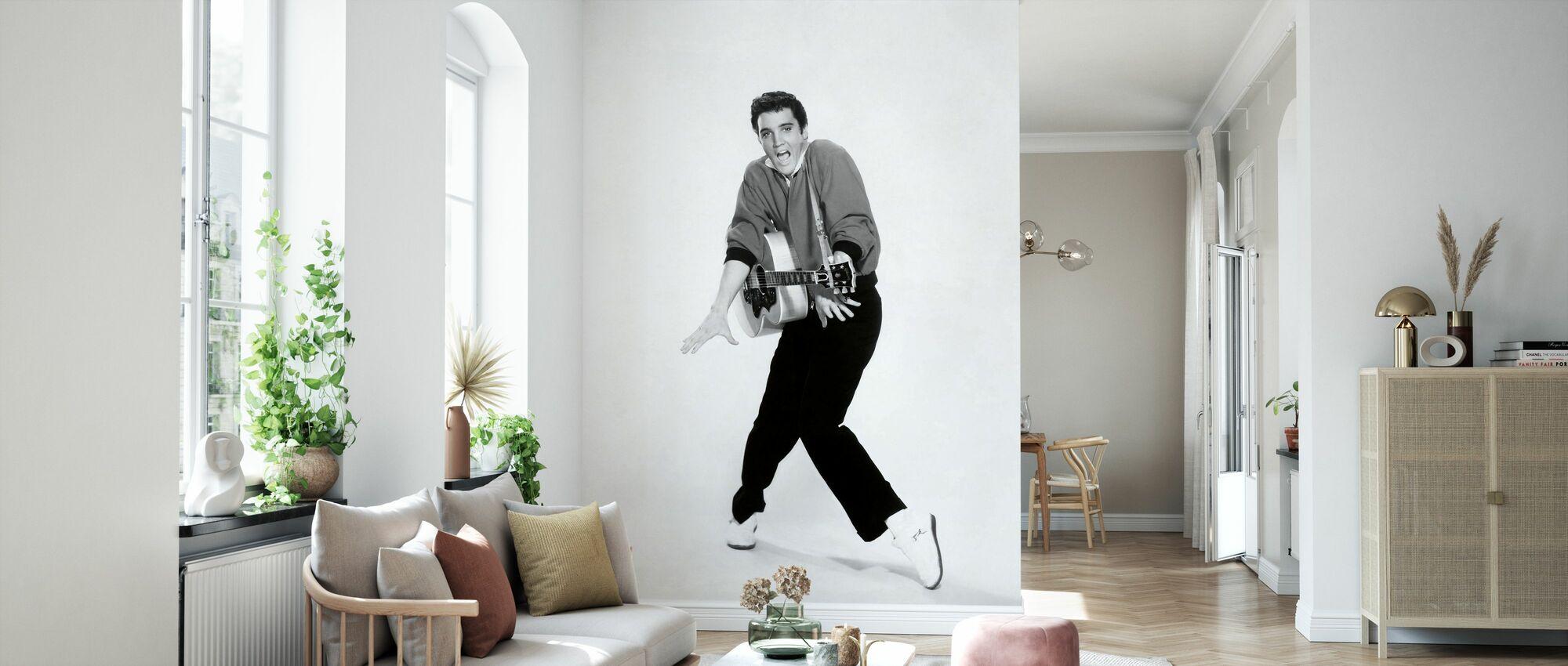 Jailhouse Rock - Elvis Presley - Wallpaper - Living Room